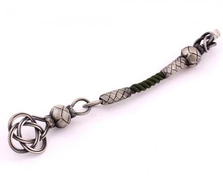 Tesbihane - 1000 Ayar Gümüş Kazaz Tesbih Püskülü (model 10)