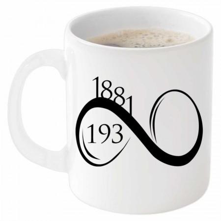 Tesbihane - 1881-193∞ Tarihli Beyaz Kupa Bardak