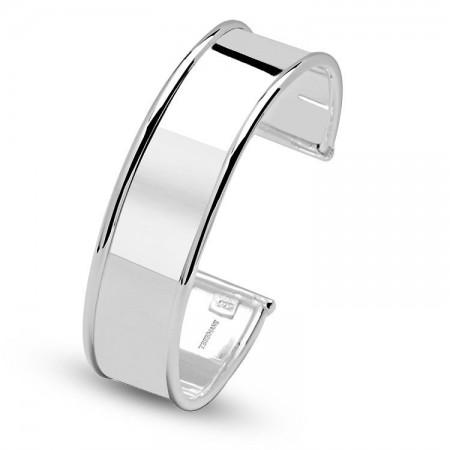 Tesbihane - 925 Ayar Gümüş Ayarlanabilen Kelepçe (EJKVBTW7)