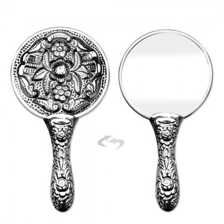 Tesbihane - 925 Ayar Gümüş Ayna 001 Model 7
