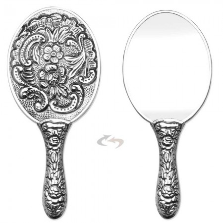 Tesbihane - 925 Ayar Gümüş Ayna 002 Model 11