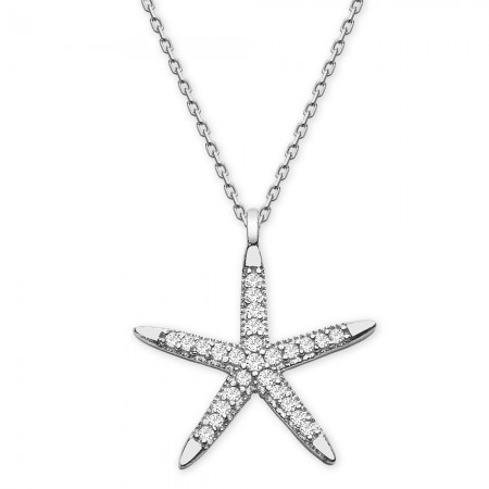 - 925 Ayar Gümüş Bayan Kolye - 35030018