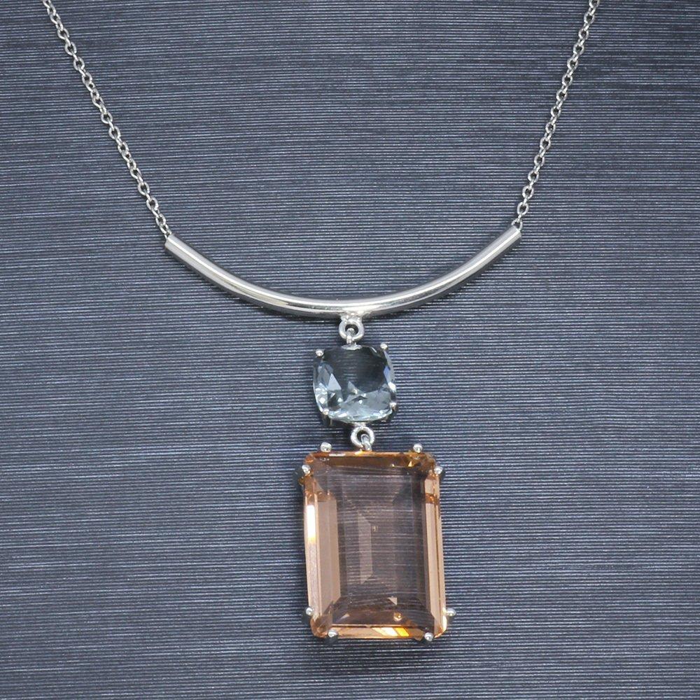 925 Ayar Gümüş Bayan Kolye (Model-12)