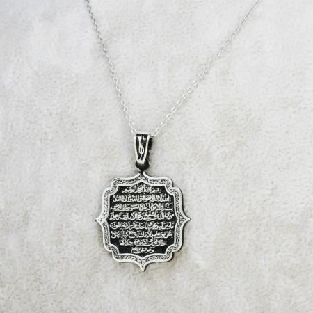 925 Ayar Gümüş Bayan Kolye (Model-51) - Thumbnail