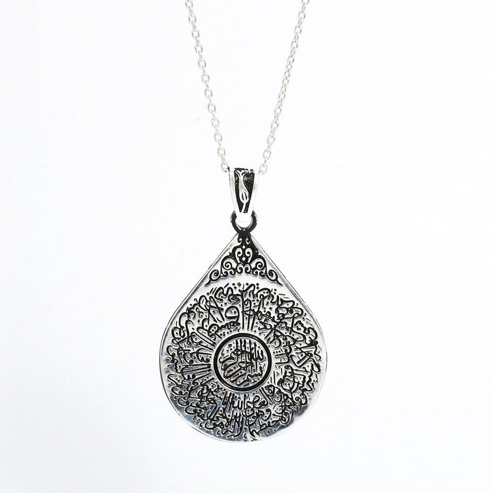 925 Ayar Gümüş Bayan Kolye (Model-54)