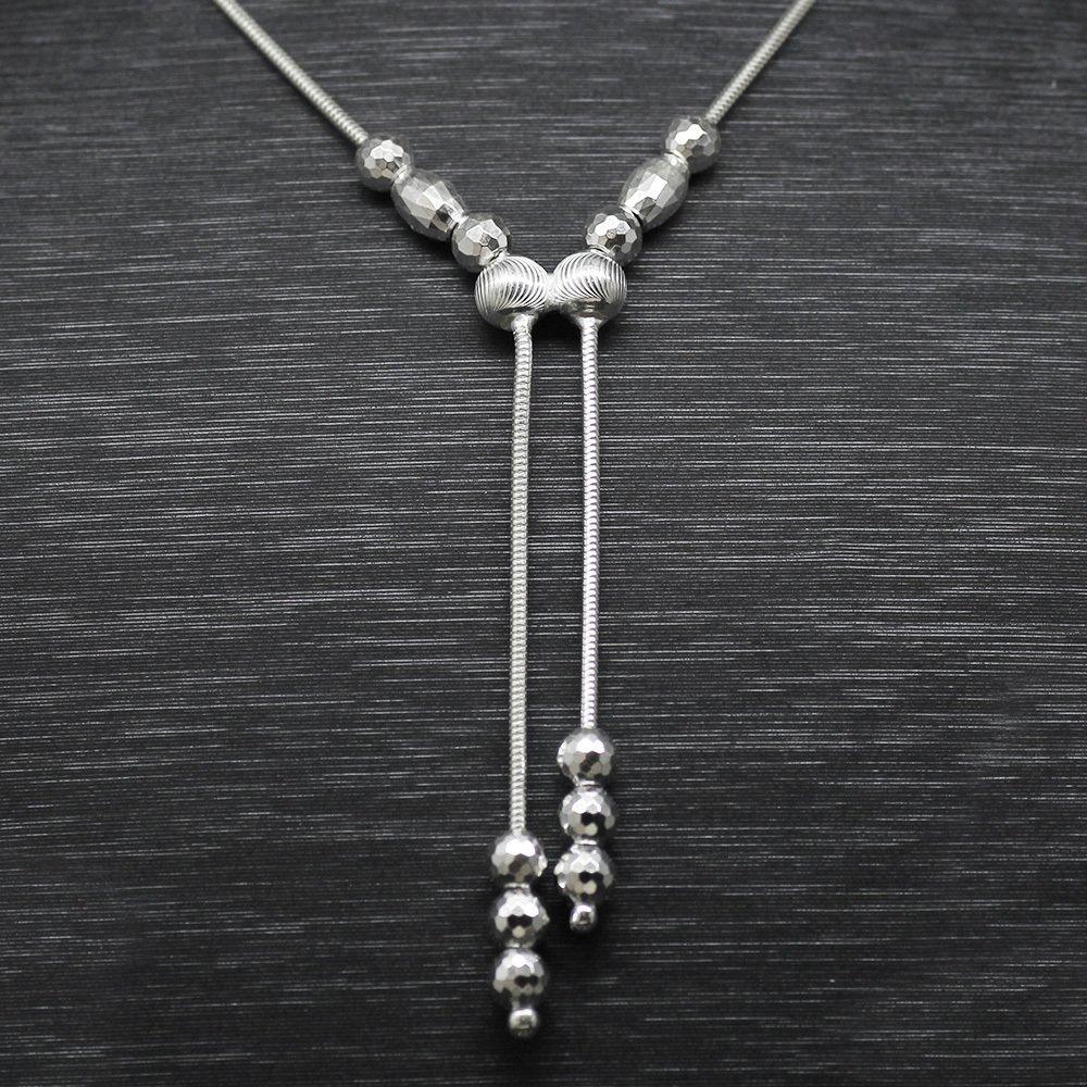 925 Ayar Gümüş Bayan Kolye (Model-56)