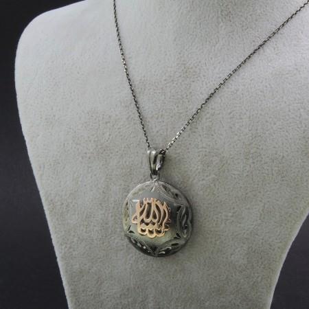 Tesbihane - 925 Ayar Gümüş Bayan Kolye (Model-85)