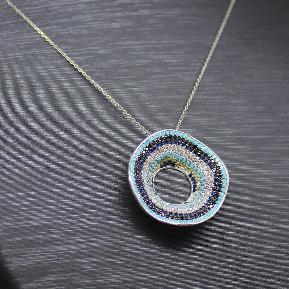 925 Ayar Gümüş Bayan Kolye (Model-9)