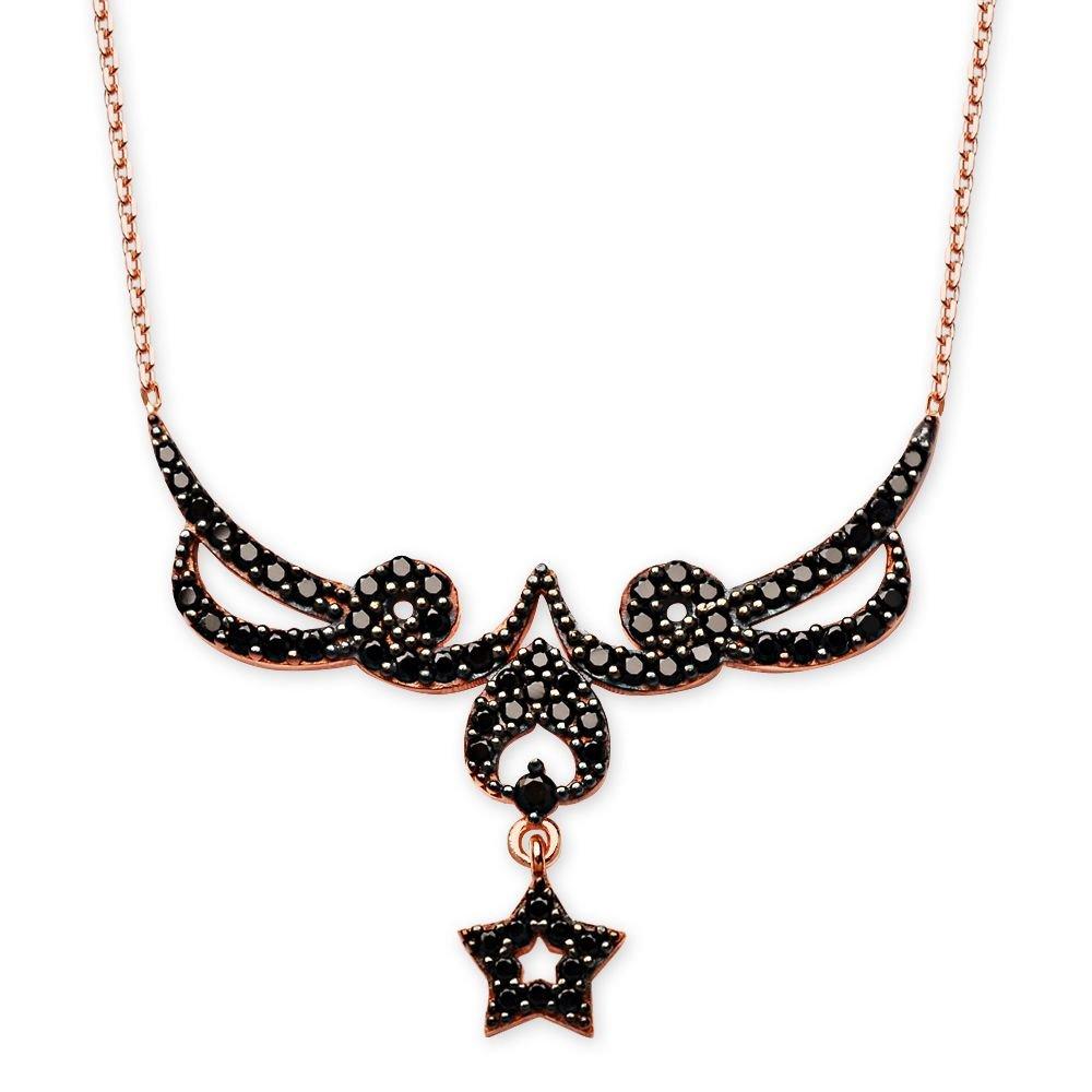925 Ayar Gümüş Bayan Kolyesi (M-17)