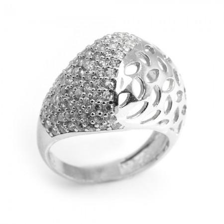 Tesbihane - 925 Ayar Gümüş Bayan Yüzük (Model-49)