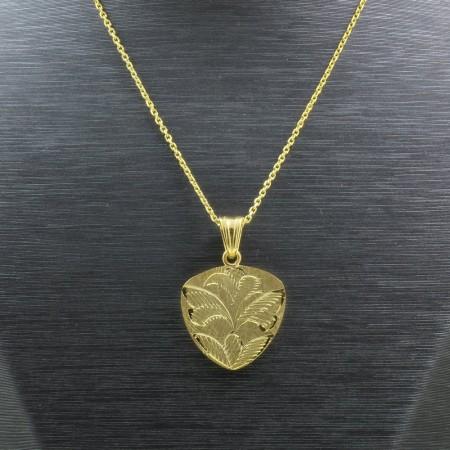 925 Ayar Gümüş Çift Taraflı Bayan Kolye (Model-99) - Thumbnail