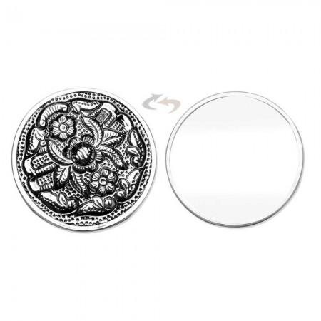 - 925 Ayar Gümüş El Aynası Ayna