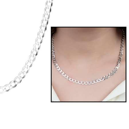 Tesbihane - 925 Ayar Gümüş Gurmet Bayan Zincir Kolye