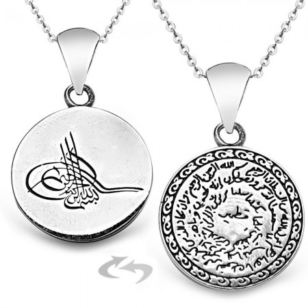Tesbihane - 925 Ayar Gümüş Kıtmir Kolye