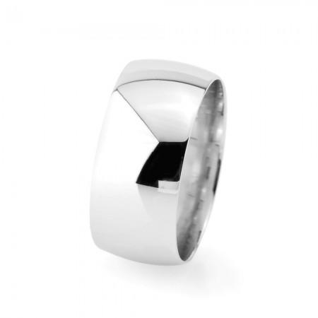 - 925 Ayar Gümüş Klasik Model Erkek Alyans - Model 13