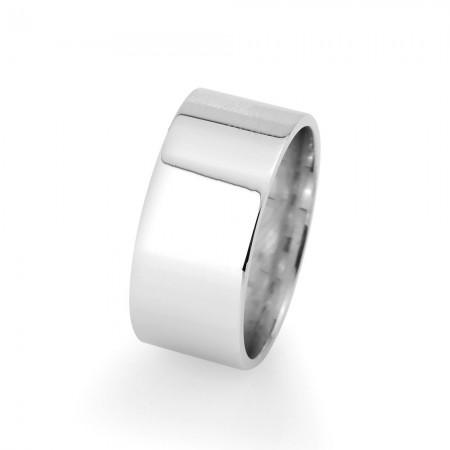 Tesbihane - Klasik Tasarım 925 Ayar Gümüş Erkek Alyans