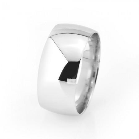 - 925 Ayar Gümüş Klasik Model Erkek Alyans - Model 8