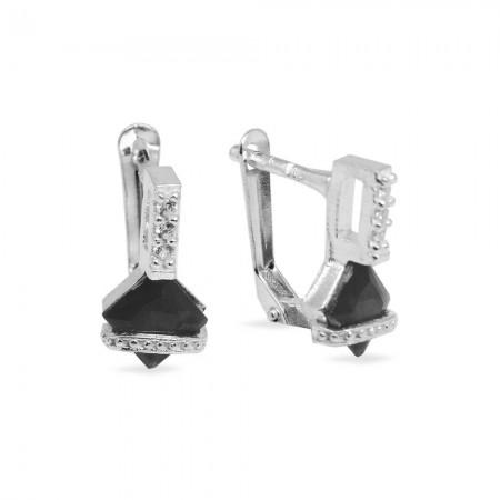 Tesbihane - 925 Ayar Gümüş Küpe (Model-46)