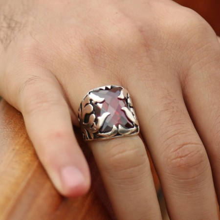 - 925 Ayar Gümüş Özel Tasarım Yüzük