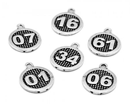 Tesbihane - Şehir Plakalı 925 Ayar Gümüş Püskül Ucu
