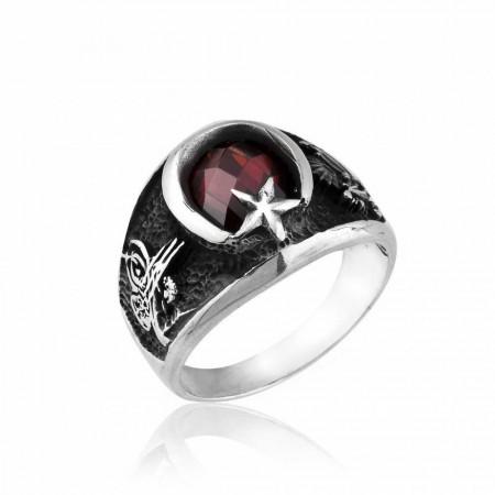 - 925 Ayar Gümüş Son Osmanlı Yüzüğü