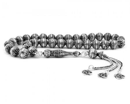Tesbihane - 925 Ayar Gümüş Tesbih