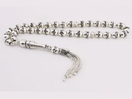 925 Ayar Gümüş Tesbih (Model 2) - Thumbnail