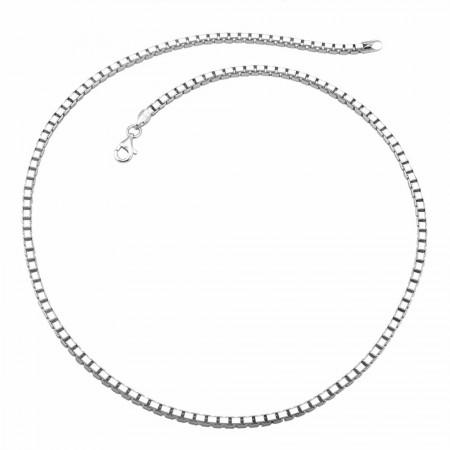 Tesbihane - 925 Ayar Gümüş Zincir (Model-10)
