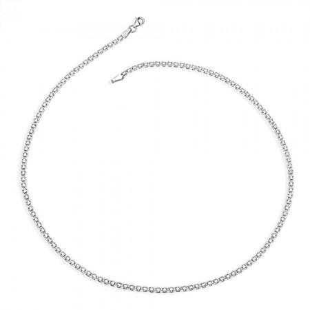 925 Ayar Gümüş Zincir (Model-3) - Thumbnail