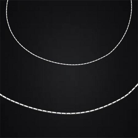 Tesbihane - 925 Ayar Gümüş Zincir (Model-4)