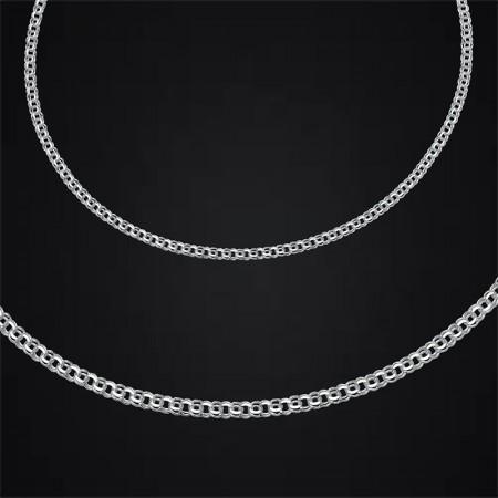 Tesbihane - 925 Ayar Gümüş Zincir (Model-7)
