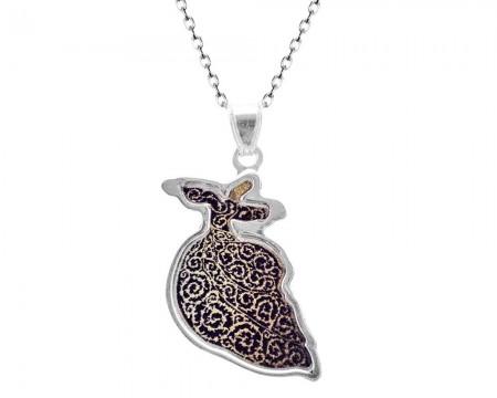 Tesbihane - 925 Gümüş Mevlana Kolye