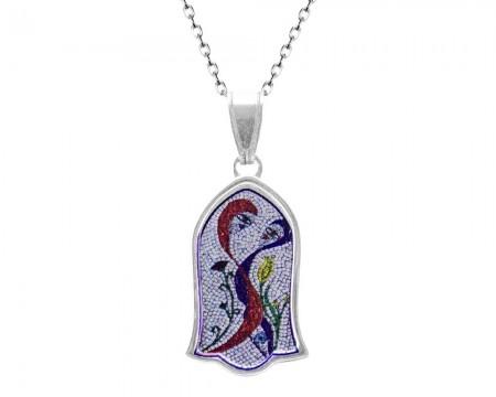Tesbihane - 925 Gümüş Vuslat Kolye