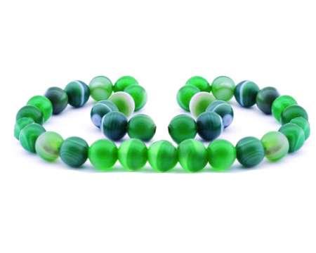 - Akik Yeşil Mat Küre Kesim 8*8 mm