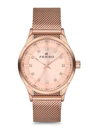 FERRO - Bayan Ferro HASIR Saat - F51374-428-C4