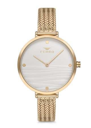 FERRO - Bayan Ferro HASIR Saat - F81868C-827-B