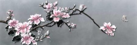 - Çiçek Temalı Kanvas Tablo