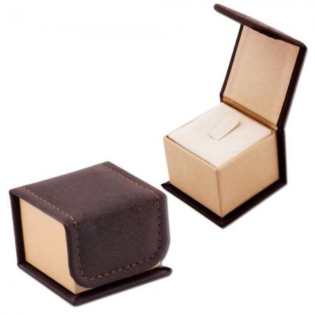 Tesbihane - Deri Yüzük Kutusu (Model-1)