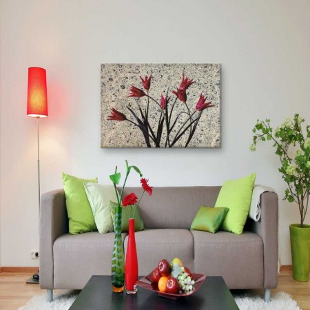 - Ebru Sanatı Kanvas Tablo (Model-2)