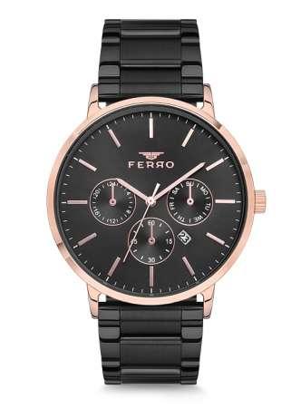 FERRO - Erkek Ferro Metal Saat - F40044-115-R