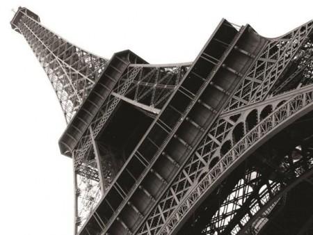 Eyfel Kulesi Kanvas Tablo - Thumbnail
