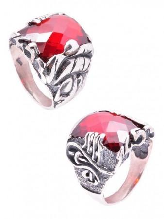 Fetih 1453 - Fatih Yüzüğü (Kırmızı) - Thumbnail