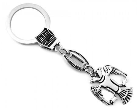 - Gümüş Selçuklu Kartalı Tasarım Anahtarlık