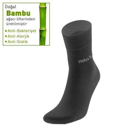 Kişiye Özel İsim Yazılı 12 li (3 renk x 4 adet) Özel Hediye Kutulu Bayan Çorap Seti - Thumbnail