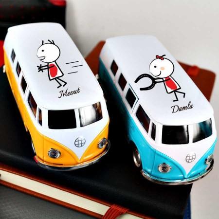 - Kişiye Özel Tasarımlı İkili Vosvos Minibüs