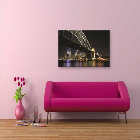 - Köprü Manzaralı Kanvas Tablo