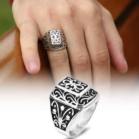 - Lisanslı 925 Ayar Gümüş Kurtlar Vadisi Yüzüğü