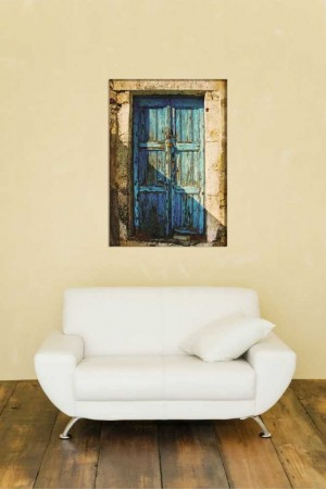 Tesbihane - Nostaljik Kapı Kanvas Tablo