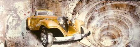 - Özel Tasarım Araba Temalı Kanvas Tablo (Model-2)