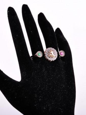 - Semazenli İki Parmak Yüzüğü